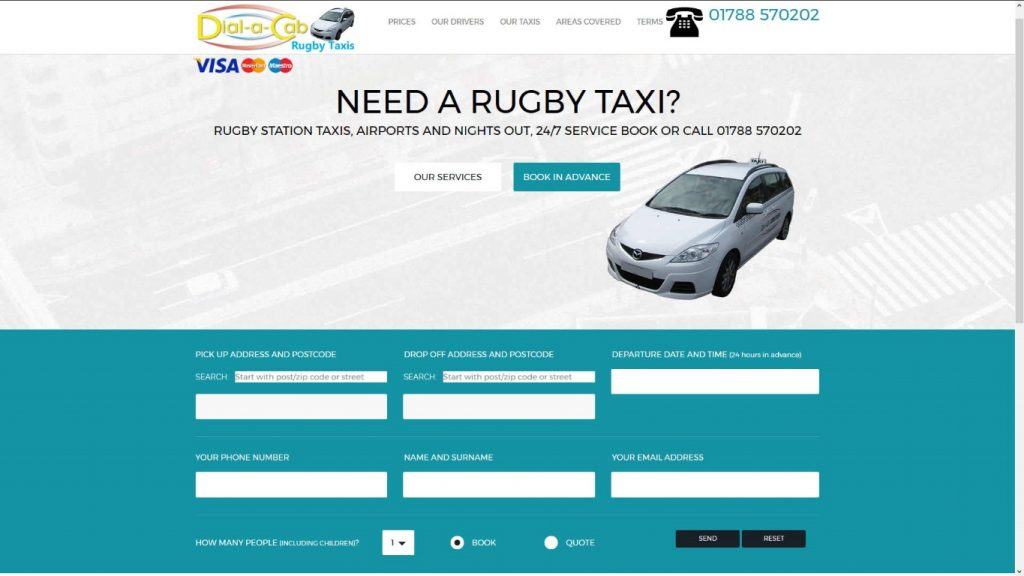 Dial a Cab Rugby