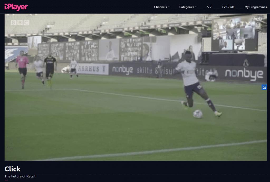 BBC Click video grandstand